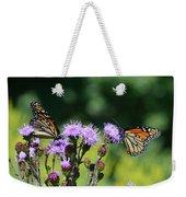 Monarchs And Blazing Star Weekender Tote Bag