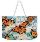 Monarchs Weekender Tote Bag