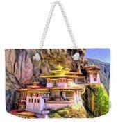 Monastery In Bhutan Weekender Tote Bag