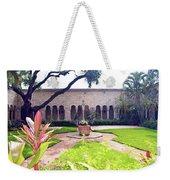 Monastery Of St. Bernard De Clairvaux Garden Weekender Tote Bag