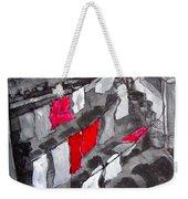 Monday We Do The Sheets - Urban Roof Top Weekender Tote Bag