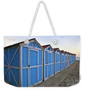 Mondello Beach Cabanas Weekender Tote Bag