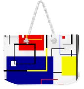 Mondrian Redux Weekender Tote Bag