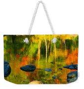 Monet Autumnal Weekender Tote Bag