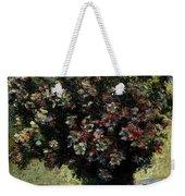 Monet Claude Vase Of Flowers Weekender Tote Bag