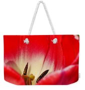 Monet Garden Red Tulip Weekender Tote Bag