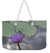 Monet Lily Pond Reflection  Weekender Tote Bag