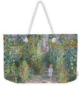 Monet's Garden At Vetheuil Weekender Tote Bag