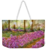 Monet's Garden In Cannes Weekender Tote Bag