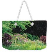 Monet's Garden Pond And Boat Weekender Tote Bag