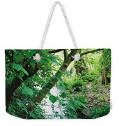 Monet's Garden Stream Weekender Tote Bag