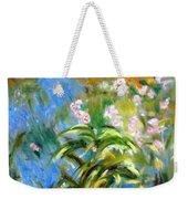 Monet's Irises Weekender Tote Bag