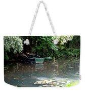 Monets Rowboats Weekender Tote Bag