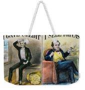 Money Lending, 1870 Weekender Tote Bag