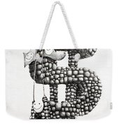 Money Monument Weekender Tote Bag by James Williamson
