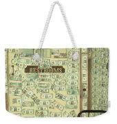 Money Restrooms Weekender Tote Bag