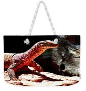 Monitor Lizard Weekender Tote Bag
