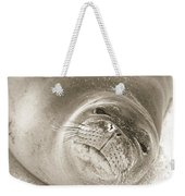 Monk Seal Weekender Tote Bag