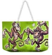 Monkey Dance Weekender Tote Bag