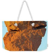 Monkey Face Pillar At Smith Rock Closeup Weekender Tote Bag