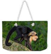 Monkey On My Back Weekender Tote Bag