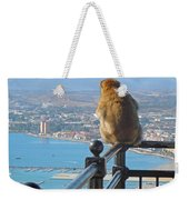 Monkey Overlooking Spain Weekender Tote Bag