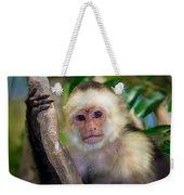 Monkey Portrait Weekender Tote Bag