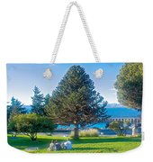 Monkey Puzzle Tree In Central Park In Bariloche-argentina  Weekender Tote Bag