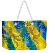 Monkeys And Sunbeams Weekender Tote Bag