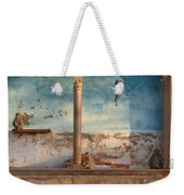 Monkeys At Sunset Weekender Tote Bag
