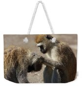 Monkeys Grooming Weekender Tote Bag