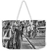 Monks Out And About Weekender Tote Bag