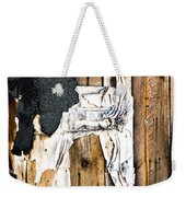 Mono Hut Wall Weekender Tote Bag