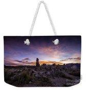 Mono Lake Sunset 5 Weekender Tote Bag