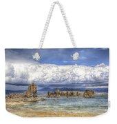 Mono Lake Tufas And Clouds Weekender Tote Bag
