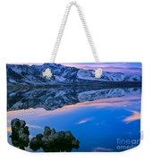 Mono Lake Twilight Weekender Tote Bag