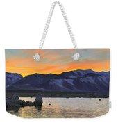 Mono Sunset Weekender Tote Bag