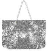 Mono Trees Weekender Tote Bag