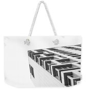 Monochrome Building Abstract 4 Weekender Tote Bag