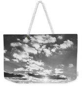 Monochrome Vintage Sunset  Weekender Tote Bag