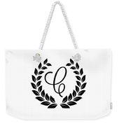 Monogram C Weekender Tote Bag