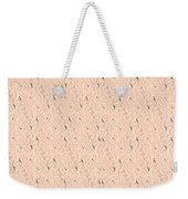 Monogram Qm Stripes Mauvecharcoal 1 Weekender Tote Bag