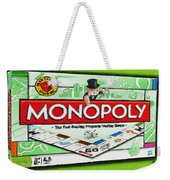 Monopoly Board Game Painting Weekender Tote Bag