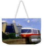 Monorail Weekender Tote Bag