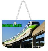 Monorail Green Wdwrf Weekender Tote Bag
