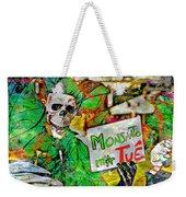 Monsanto Killed Me Weekender Tote Bag