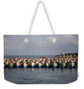Monsoon Mooring Weekender Tote Bag