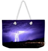 Monsoon Over Sedona Weekender Tote Bag