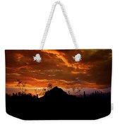 Monsoon Sunset  Weekender Tote Bag