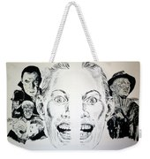 Monsters Then And Now Weekender Tote Bag